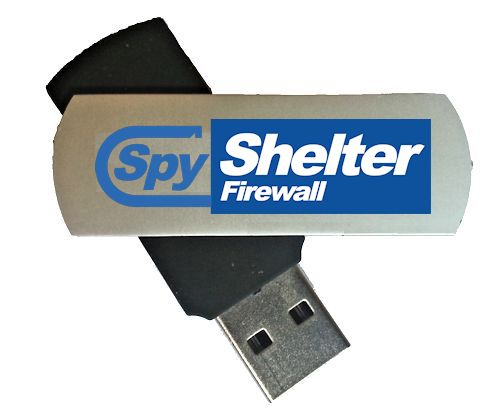 SpyShelter Firewall - USB Drive - One Year License