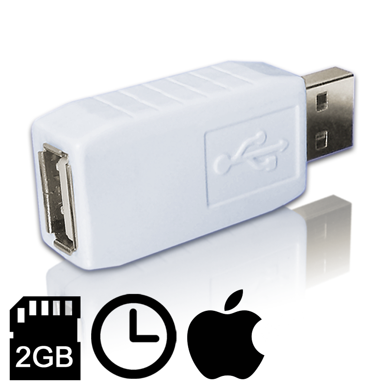 Keyllama 2 Gigabyte USB Ultra Keylogger for Mac, Windows and Linux